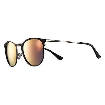 Sunglasses Unisex Cat.3 dark brown matte / yellow (JSL1189)