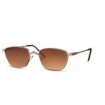 Sunglasses Unisex wayfarer fully framed kat. 3 gold/brown