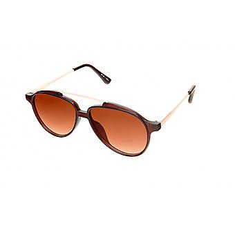 Sunglasses Unisex Pilot brown/gold/brown (20-025)