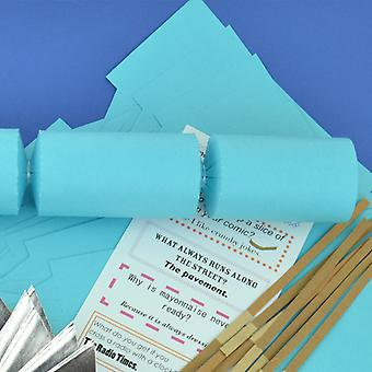 Single Sea Blue Make & Fill Your Own DIY Recycleable Christmas Cracker Craft Kit Single Sea Blue Make & Fill Your Own DIY Recycleable Christmas Cracker Craft Kit Single Sea Blue Make & Fill Your Own DIY Recycleable Christmas Cracker Craft Kit Single Sea
