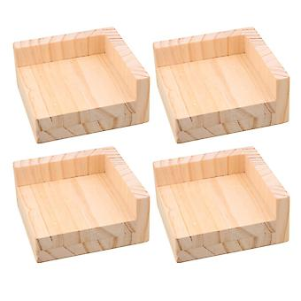 4PCS 3cm Lift Height Furniture Table Leg Lifter Riser