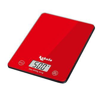 Kabalo 5kg Red Digital LCD Electronic Kitchen Cooking Baking Prep Food Preparation Weegschalen UK