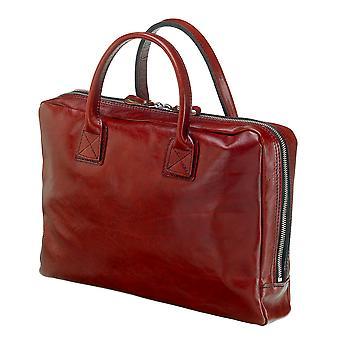 Leather Laptop Bag - The Windsor - Chestnut