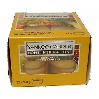 Yankee Candle Tea Light Candles Exotic Fruits