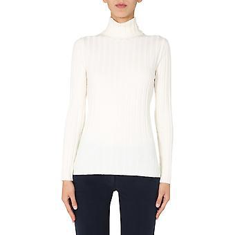 Aspesi 3978504401042 Damen's weiße Wolle Pullover