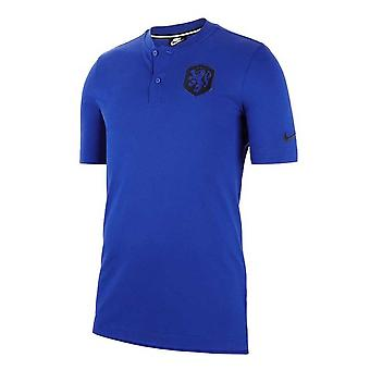 2020-2021 Holland Autentisk Polo Skjorte (blå)
