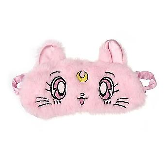 Cartoon Cute Eye Mask Blackout - Rest Sleep, Comfortabel, Zacht Gewatteerd, Schaduw