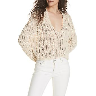 Free People | Beach Comber V-Neck Sweater