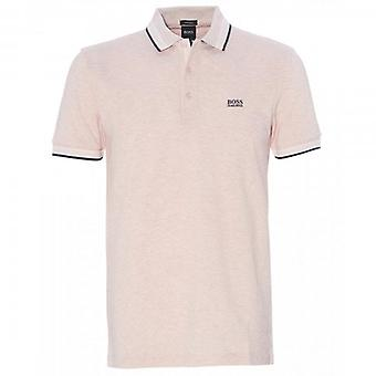 Boss Green Hugo Boss Paddy Pique Polo Light Pink 50398302