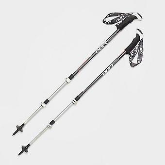 Leki Malaku Speed lock Adventure Gear Walking Poles (Paire) Noir