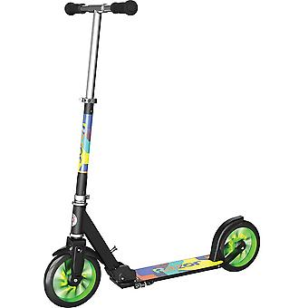 Razor A5 LUX green scooter with light up wheels for 8 years + green