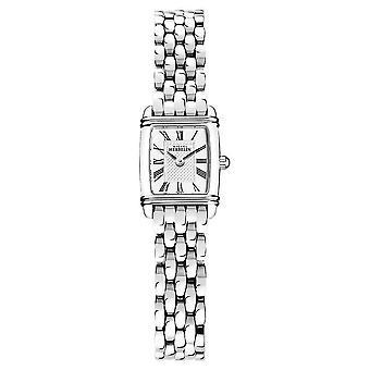 Michel Herbelin Art Déco    Women's Stainless Steel Bracelet   White Dial 17438/08B Watch
