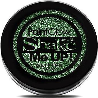 PaintGlow Trblietky Shaker - Zelená - 5g