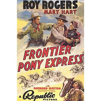 Frontier Pony Express Movie Poster (11 x 17)