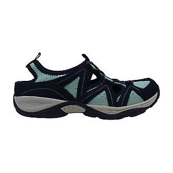 Fácil espírito Womens earthen tecido baixo Top bungee andando sapatos