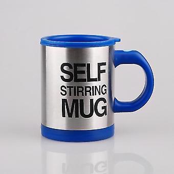 Automatisk rustfrit stål termisk self omrøring kaffe, mælk Blanding Krus -