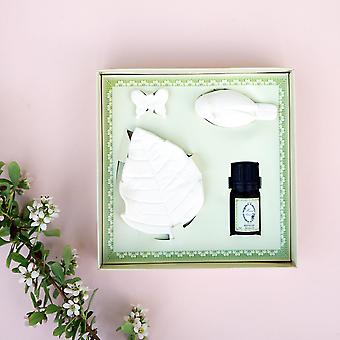 Bird Butterfly & Leaf Porcelain - Room Diffuser With Refresh Bergamot