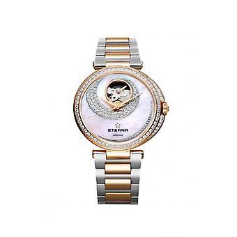 Luxury Eterna Stainless Steel Mother of Pearl Dial Woman Watch 294360691730
