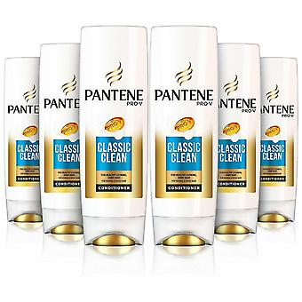 Pantene Pro-V Classic Clean Conditioner For Normal & Mixed Hair, 6 Pack, 500ml