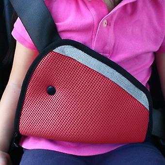 1pc Car Child Safety Cover Shoulder Seat Belt Holder Adjuster Kid Car Safe Fit