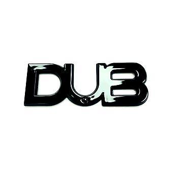 Dub Edition Badge Emblem Volkswagen Black Brand New VW Transporter T5 T5.1 T6 Golf GTi Polo