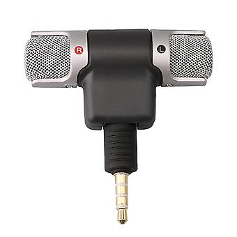 Protable External Stereo Mini Microphone 3.5mm Plug for Mobile Phone
