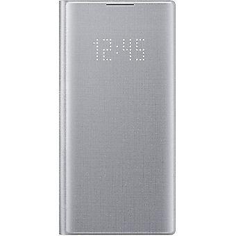 Samsung EF-NN970PSE LED View Cover til Galaxy Note 10 - sølv