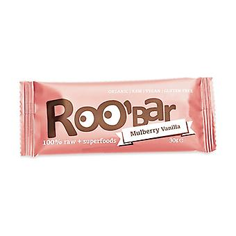100% raw bar - white mulberry and vanilla 30 g