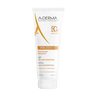 Aderma very high protection lotion 50+ 250 ml of cream