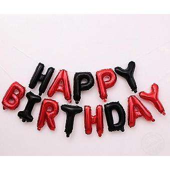Happy Birthday Letters - Aluminum Foil Balloons For Birthday Party