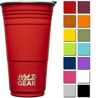 Wyld Gear 24 oz. Vacuum Insulated Stainless Steel Party Cup Tumbler
