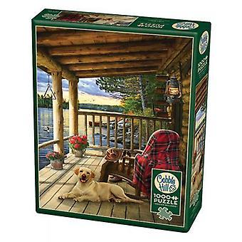 Cobble hill puzzle - cabin porch