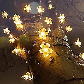 String Fairy Lights For Home Garden Decor Powerful Solar Energy Lamp Xmas Party
