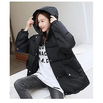 New Winter Hooded Parka Jacket Thicke Down Outerwear Coat