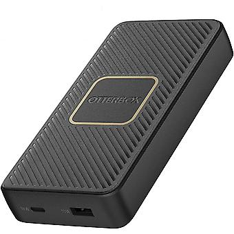 OtterBox Fast Charge Power Bank 15,000 mAh USB A & USB C 18W PD with Integrated 10W
