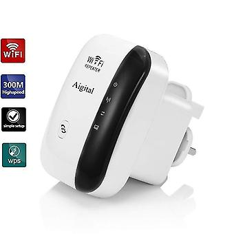 Aigital wifi extender booster 300mbps mini long range repeater fast speed signal amplifier with ethe