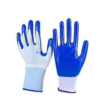 Nitrile Coated Working Gloves For Driver, Worker, Builders, Gardening
