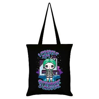Mio Moon I Myself Am Strange & Unusual Tote Bag