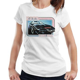 Knight Rider KITT La Supercomputadora Mujer's Camiseta