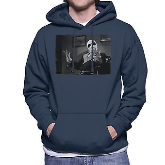 The Invisible Man Hands Up Men's Hooded Sweatshirt