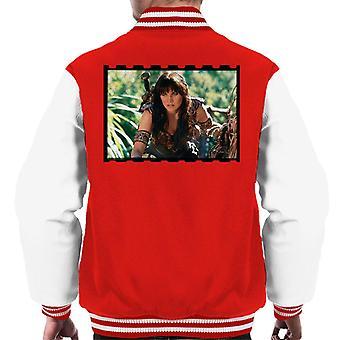 Xena Warrior Princess Spioneri Män's Varsity Jacket