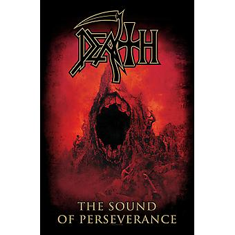 Death Poster Sound of Perseverance band logo Official Textile Flag 70cm x 106cm