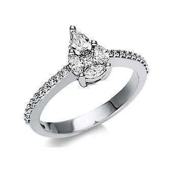 לונה יצירה פנטזיה טבעת אשליה 1T783W852-1 - רוחב טבעת: 52.5