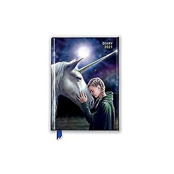 Anne Stokes - The Wish Pocket Diary 2021