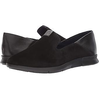 Cole Haan Women's Grand Horizon Slip ON Loafer, Black Suede, 8.5 B US