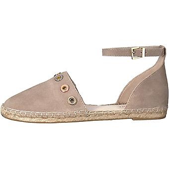 Kenneth Cole New York Womens Blair2 Leather Closed Toe Casual Espadrille Sand...
