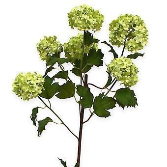 Keinotekoinen Viburnum 110 cm valkoinen