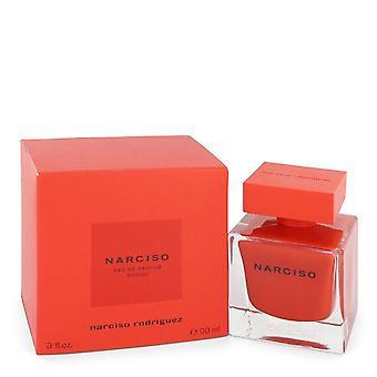 Narciso Rodriguez Rouge Eau De Parfum Spray par Narciso Rodriguez 3 oz Eau De Parfum Spray