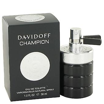 Davidoff Champion Eau De Toilette Spray By Davidoff 1 oz Eau De Toilette Spray