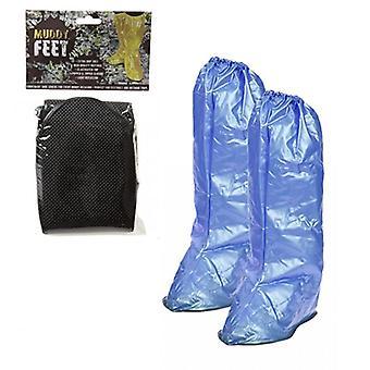 Csúcstalálkozó sáros láb vízálló overshoes nagy kék